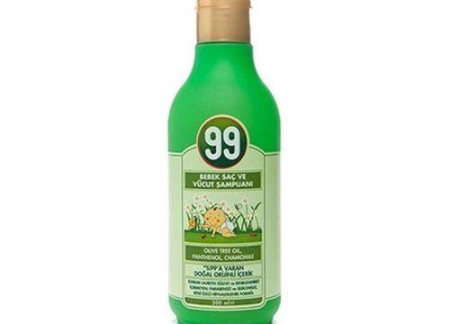 99 Bebek Saç ve Vücut Şampuanı 200ml