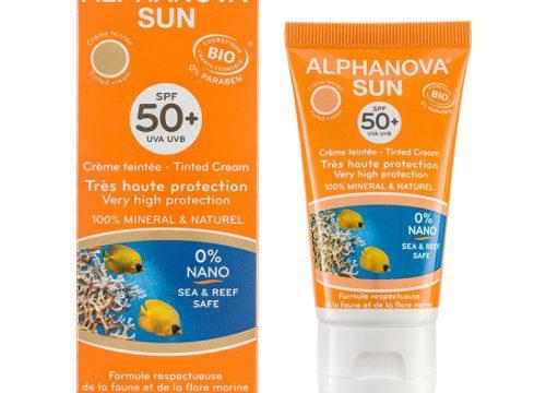 Alphanova Sun Bio SPF50+ Tube 50gr Tinted Cream