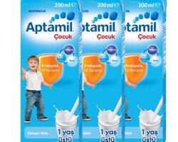 Aptamil Prebiyotik Lif Karışımı-1yaş üstü 3x200ml