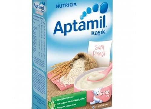 Aptamil Sütlü Pirinçli Kaşık Mama 250 gr | 6-36 ay