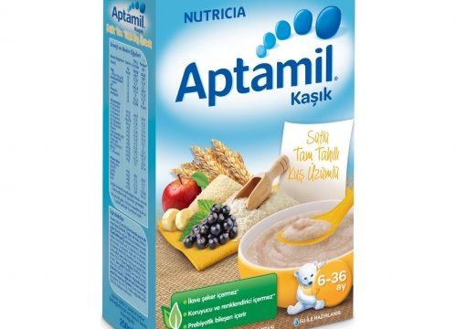 Aptamil Sütlü Tam Tahıllı Kuş Üzümlü Kaşık Mama 250 gr | 6-36 ay