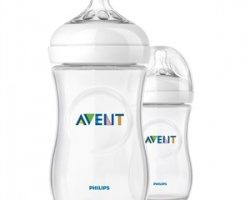 Avent Natural PP Biberon 260 ml 1ay+ 2′li SCF693/27