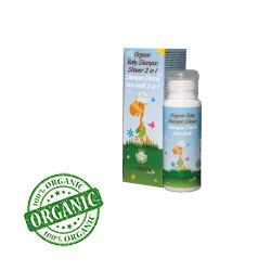Azeta Organik Bebek Şampuan ve Duş Jeli 50ml