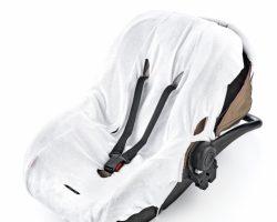 BabyJem Örme Havlu Ana Kucağı Kılıfı – Beyaz