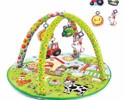BabyJem Oyuncaklık Oyun Minderi | Çiftlik Yuvarlak