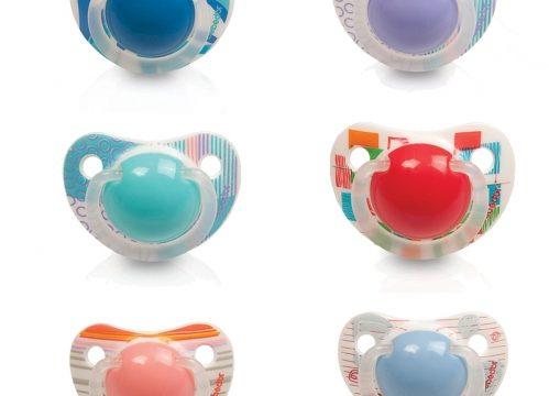 Bebedor Art Desenli Silikon Damaklı Emzik