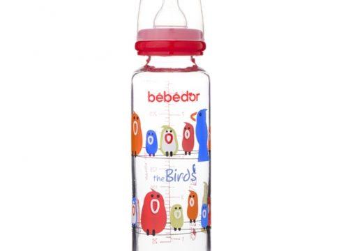 Bebedor Desenli Cam Biberon 250ml