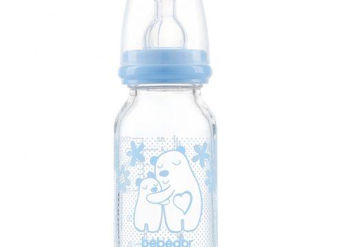 Bebedor Isıya Dirençli Cam Biberon 125 ml