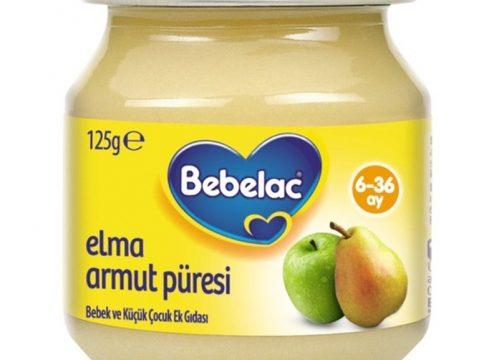 Bebelac Elma Armut Püresi 125 gr | +6 Ay