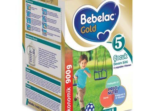 Bebelac Gold 5 Çocuk Devam Sütü 900 gr   +2 Yaş