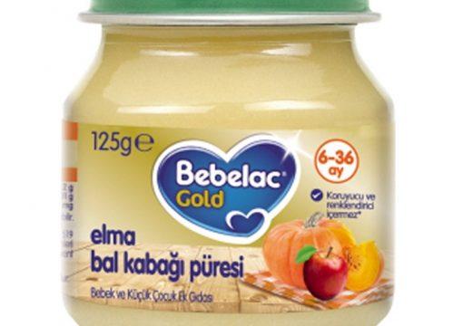 Bebelac Gold Bahçe Bal Kabağı Püresi 125 gr | +6 Ay