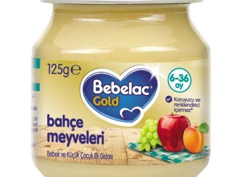 Bebelac Gold Bahçe Meyveleri Püresi 125 gr   6.aydan itibaren