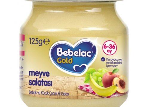Bebelac Gold Meyve Salatası Püresi 125 gr | +6 Ay