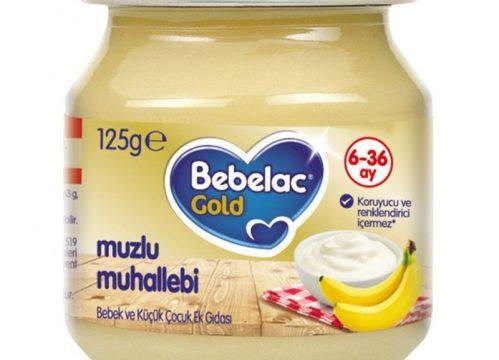 Bebelac Gold Muzlu Muhallebi Püresi 125 gr | +6 Ay