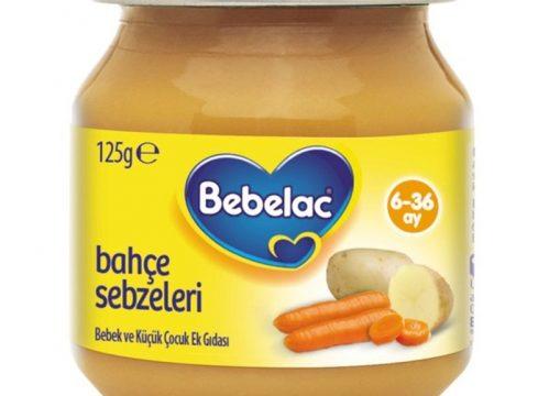Bebelac Gold Pirinçli Sebze Püresi 125 gr | +6 Ay