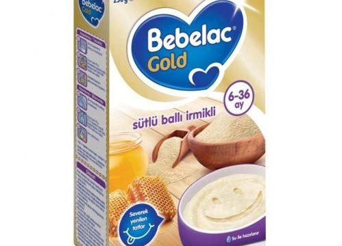 Bebelac Gold Sütlü Ballı İrmikli Kaşık Maması 250 gr | 6-36 ay