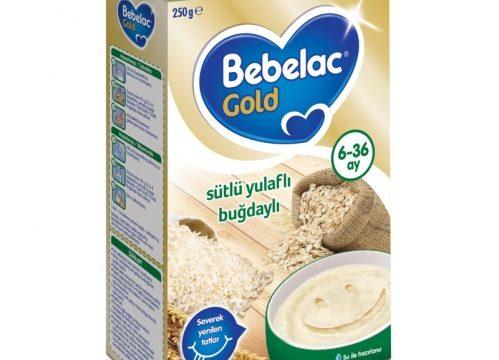 Bebelac Gold Sütlü Yulaflı Buğdaylı Kaşık Maması 250 gr | 6-36 ay