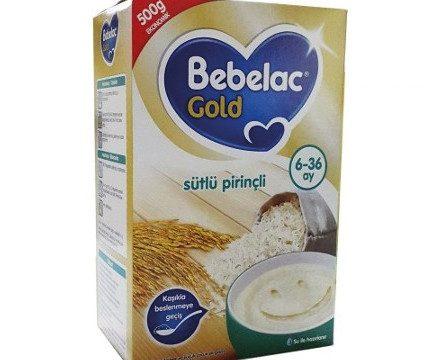 Bebelac Kaşık Maması Sütlü Pirinçli 500gr