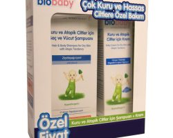 Biobaby Kuru ve Atopik Ciltler için Şampuan ve Krem