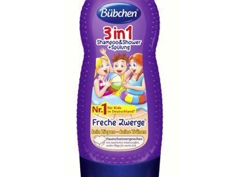 Bübchen 3ü 1 arada Çocuk Şampuanı-Duş Jeli-Balsam 230ml