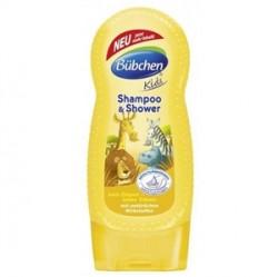 Bübchen Çocuk Şampuanı ve Duş Jeli Safari 230ml