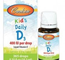 Carlson Kids Daily D3 400 IU Per Drop 10.3ml