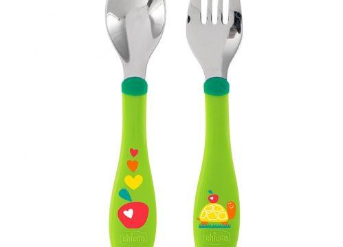 Chicco Stainless Steel Cutlery Çatal Kaşık 18+ay