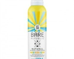 Coola Bare Republic Spf30 Mineral Sunscreen Kids Sprey 177ml