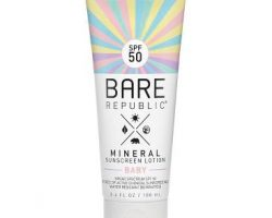 Coola Bare Republic Spf50 Mineral Sunscreen Baby Lotion 100ml