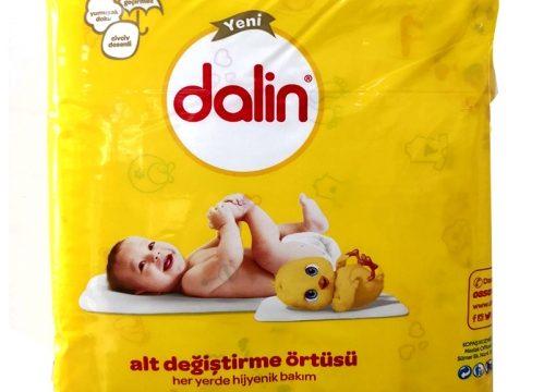 Dalin Bebek Bakım Örtüsü 10 Adet
