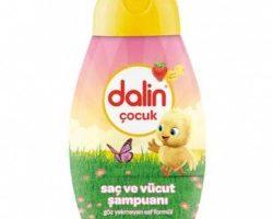 Dalin Çocuk Saç ve Vücut Şampuanı 300 ml – Çilek Kokulu