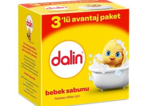 Dalin Hassas Ciltler İçin Bebek Sabunu 3 lü Paket