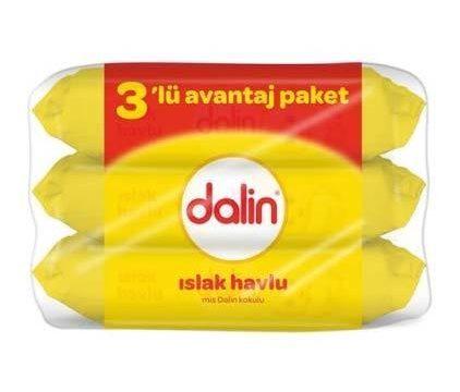 Dalin Islak Pamuk Havlu 3lü Avantaj Paketi