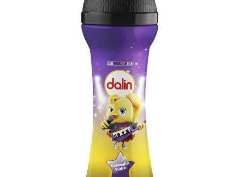 Dalin Mikrofon Şişe-Çilekli Saç ve Vücut Şampuanı 300 ml