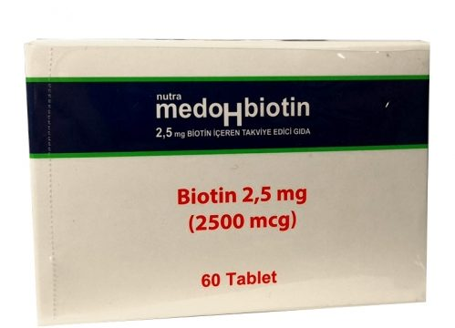 Dermoskin Medohbiotin Biotin 2,5mg 60 Tablet Kullananlar