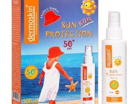 Dermoskin Sun Protection Kids SPF50+ Spray 100ml – Şapka Hediyeli