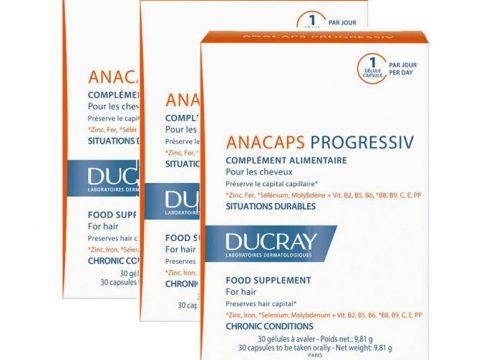 Ducray Anacaps Progressiv 30 Kapsül | 3 Al 2 Öde Kullananlar