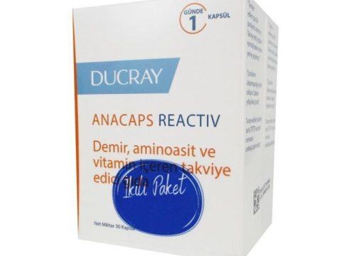 Ducray Anacaps Reactiv İkili Paket Kullananlar