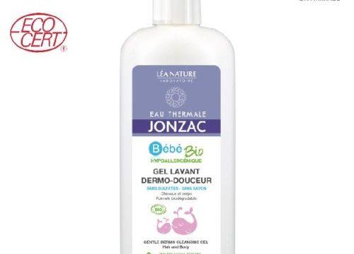 Eau thermale jonzac Organik Sertifikalı Bebek Saç ve Vücut Dermo Yıkama Jeli 500 ml