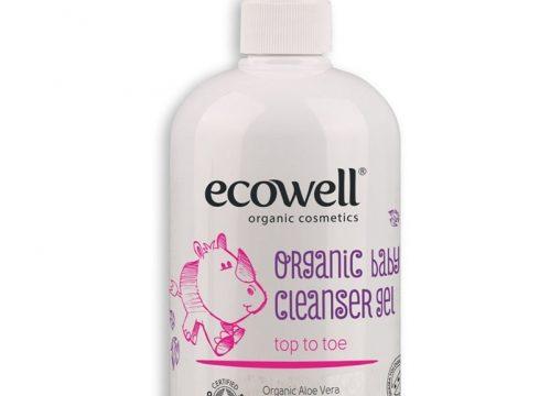 Ecowell Organik Bebek Temizleme Jeli 500 ml