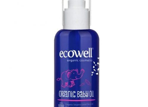 Ecowell Organik Bebek Yağı 100ml