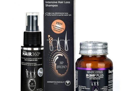 Hair 360 Erkeklere Özel Dökülme Karşıtı Set Kullananlar