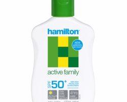Hamilton Active Family SPF50+ Losyon 125ml