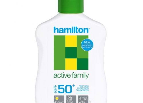 Hamilton Active Family SPF50+ Losyon 125ml