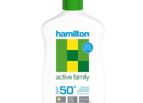 Hamilton Active Family SPF50+ Losyon 250ml