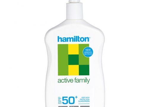 Hamilton Active Family SPF50+ Losyon 500ml