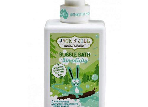 Jack and Jill Natural Bathtime Bubble Bath Simplicity 300ml