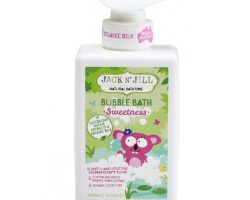 Jack and Jill Natural Bathtime Bubble Bath Swetness 300ml