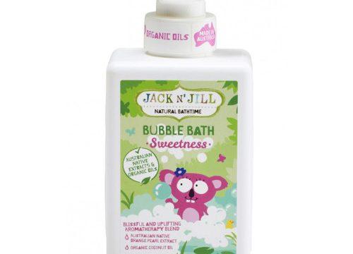 Jack and Jill Natural Bathtime Bubble Bath Swetness 300ml