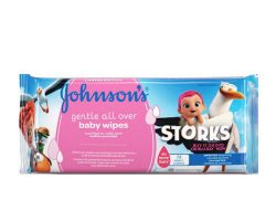 Johnsons Baby Gentle Cleansing Losyonlu Islak Mendil 56 Adet